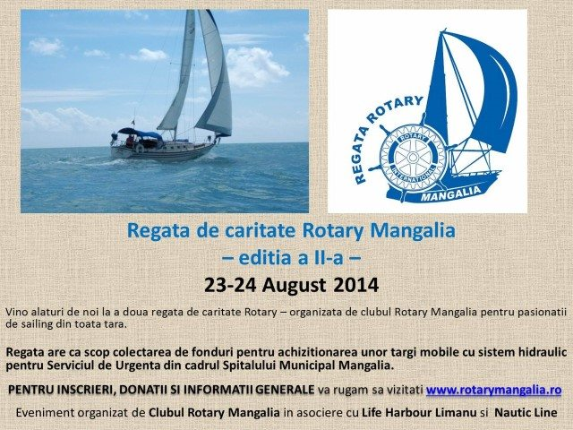Regata Rotary Mangalia 2014