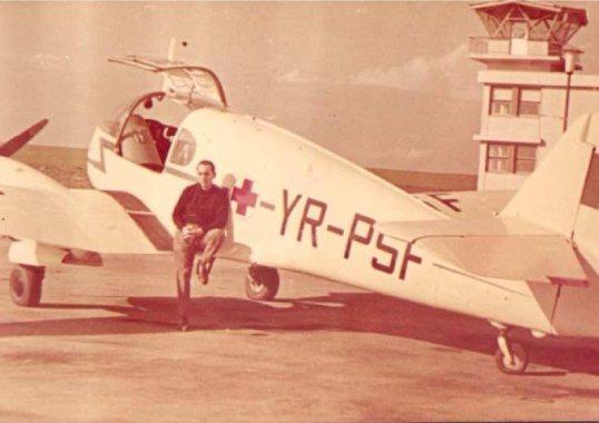Alexandru_Podgoreanu_pilot_comandant_Aviasan_Tuzla_1968