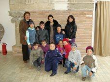Elevii clasei III A Cotu Vaii la Muzeul Callatis