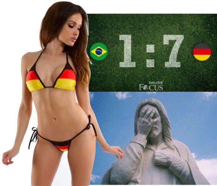 Germania-Brazilia 7-1