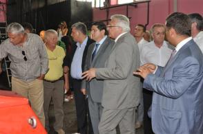 foto 2-La Mangalia s-a pus în funcţiune sistemul de distribuţie a gazelor naturale