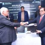 MoU signed for Tunnel connectivity between Srinagar, Kargil and Leh