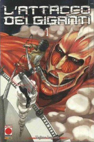 Manga de L'attacco dei Giganti