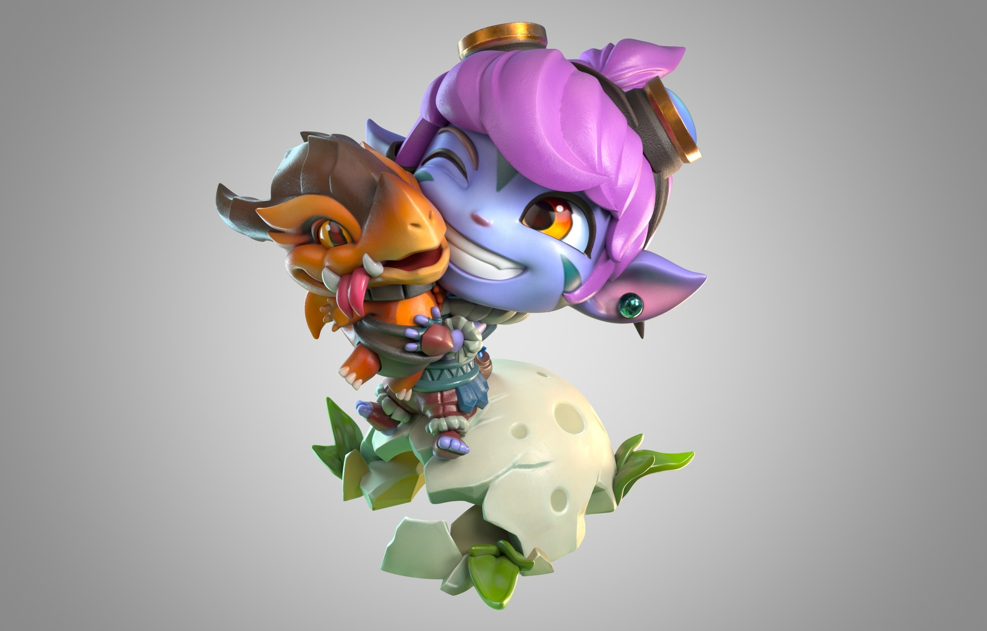 Recensione Mini Figure di Tristana da League of Legends