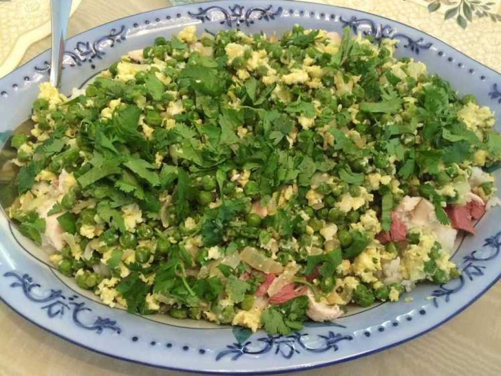 Rice with Peas and Ham