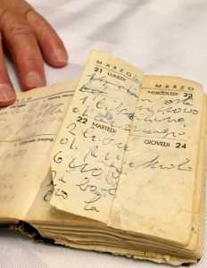 old book of recipes