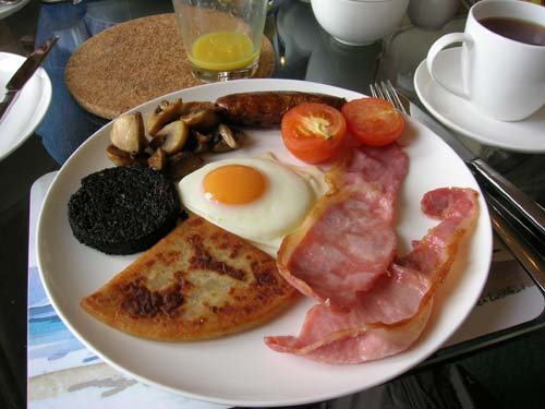 Bed  Breakfast  Scozia  Inveraray  roberta  MeV