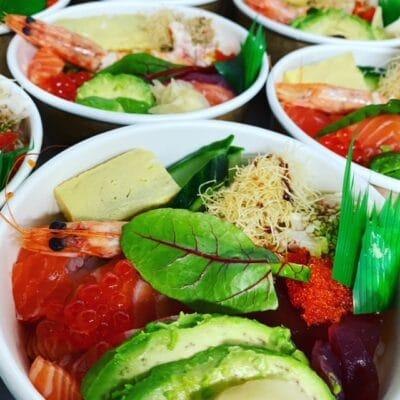 Chirashi Sushi di ManGiappone
