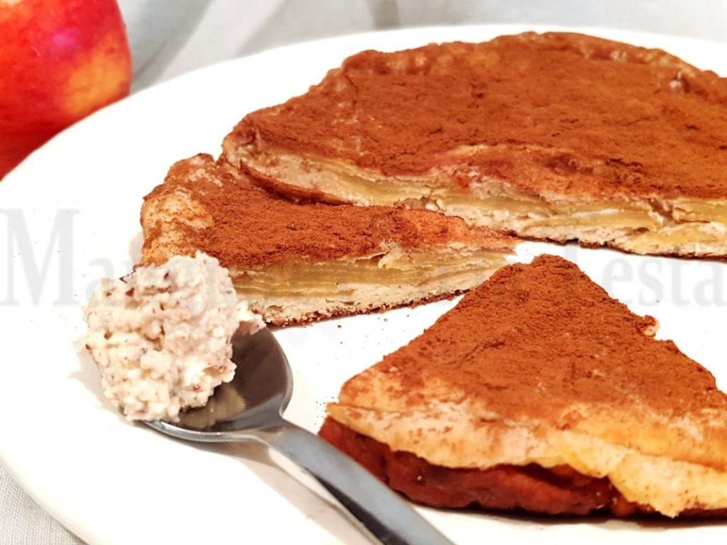 Torta di mele invisibili senza glutine