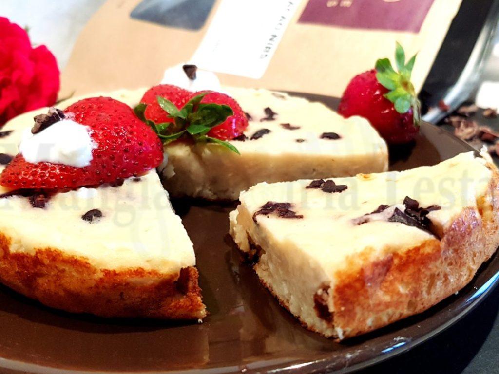 Cheesecake pancake senza glutine