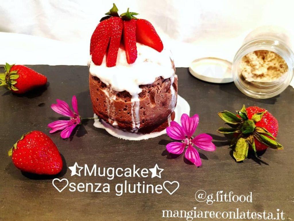 Mug Cake al cacao e caffè senza glutine