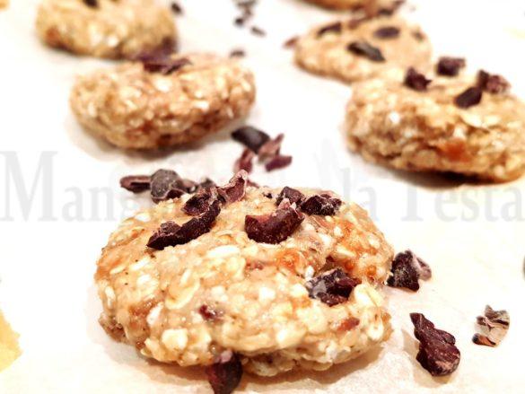 Biscotti proteici senza cottura