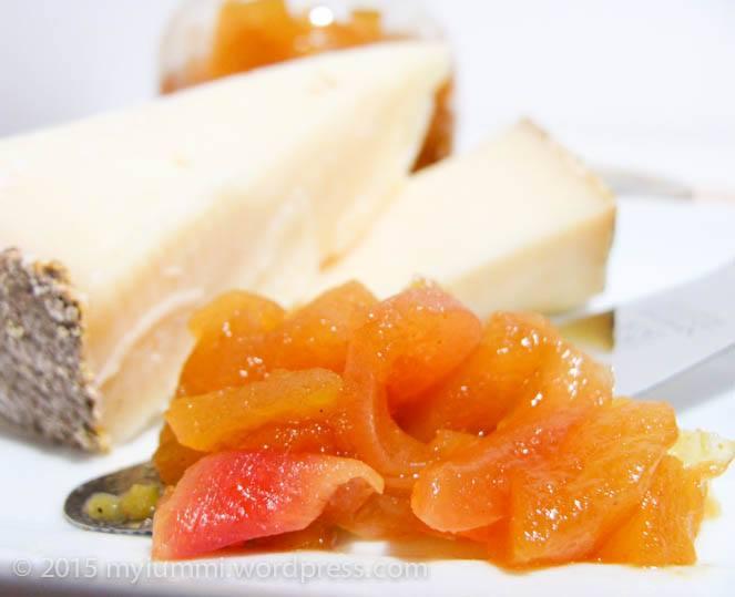 Chutney mela ananas Mangiare da Dio