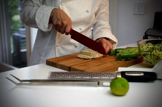 ricetta passo passo Fackelmann spaghetti di zucchina