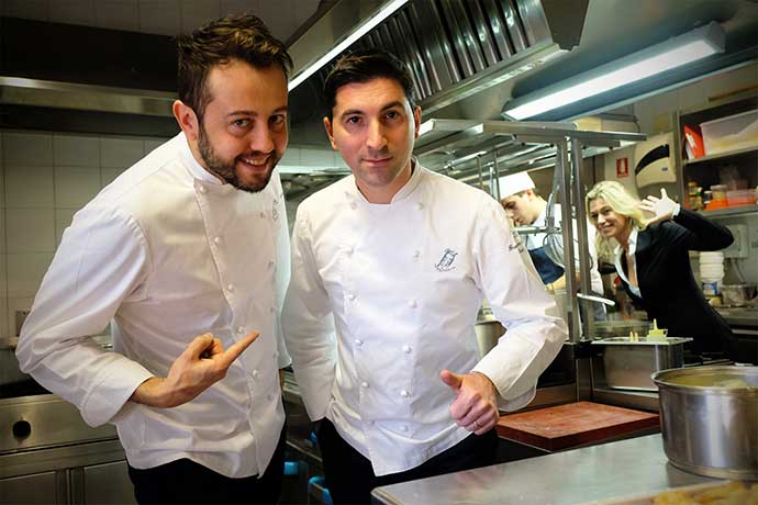 intervista chef stellati