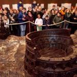Colosseo di cioccolata