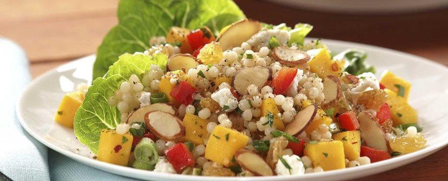 Mango and Almond Couscous Salad Mangoorg