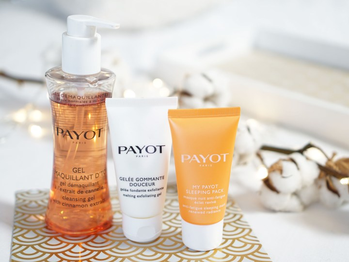 Payot Gel démaquillant gelée gommante sleeping pack