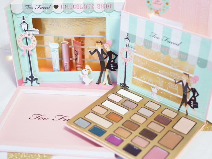Too Faced Christmas in New York Chocolate Shop palette