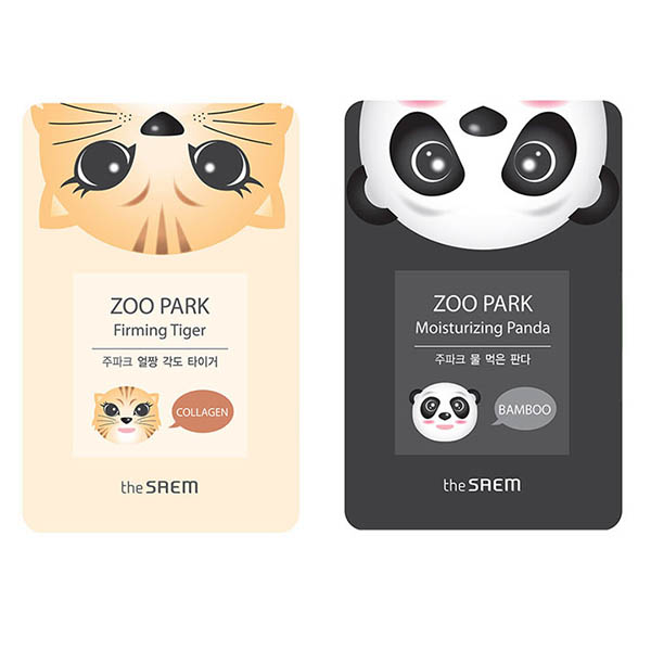 the Saem Zoo Park sheet mask
