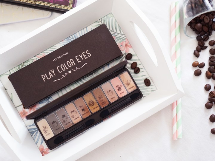 Etude House Play Color Eyes In The Cafe palette