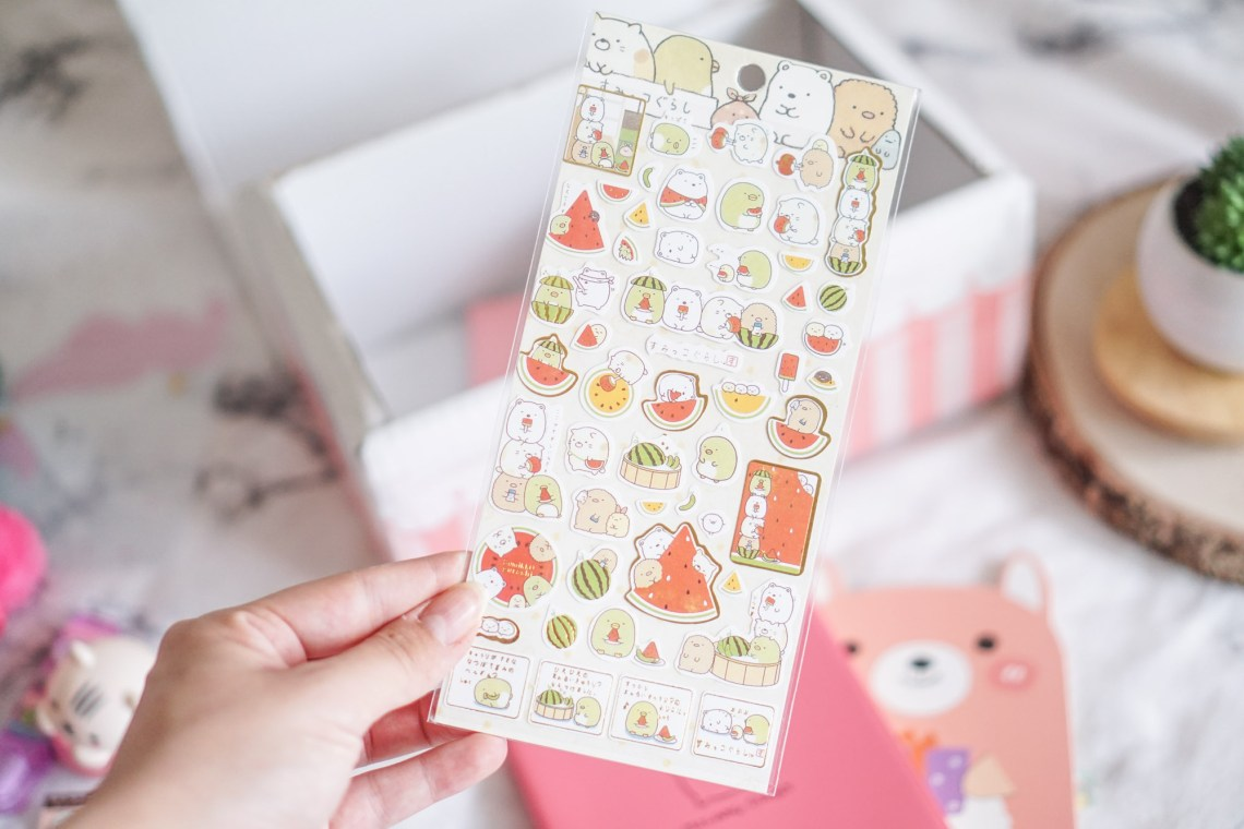 Crazy Kawaii Box Cute Stickers Sumikko Gurashi
