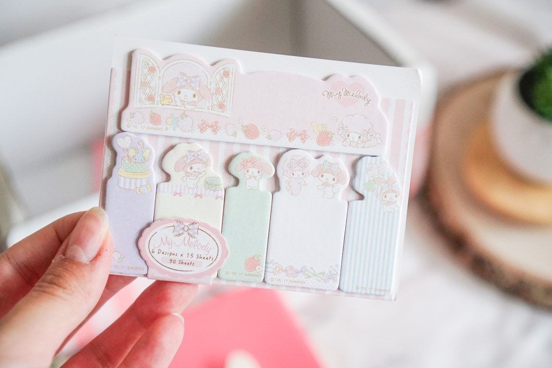 Crazy Kawaii Box Cute Sticky note Little Twin Star