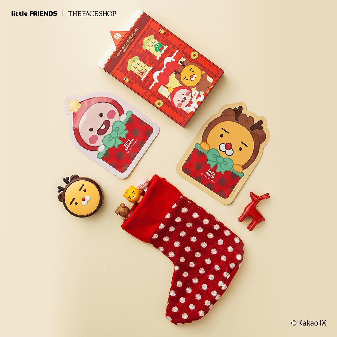 The Face Shop Kakao Little Friends Christmas 2018