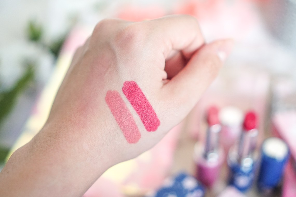 Etude House Cherry Blossom Dear My Matte Tinting Lips Talk swatch