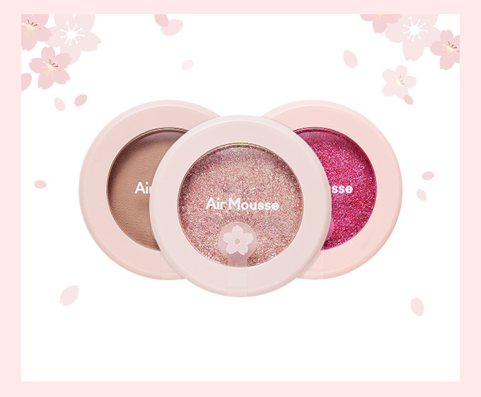 Etude House Picnic Blossom Air Mousse Eyes