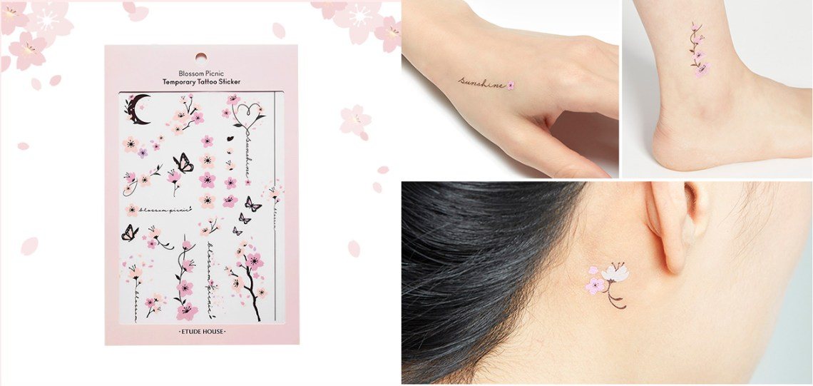 Etude House Picnic Blossom Tattoo sticker