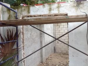 Entrance to Barrel Room
