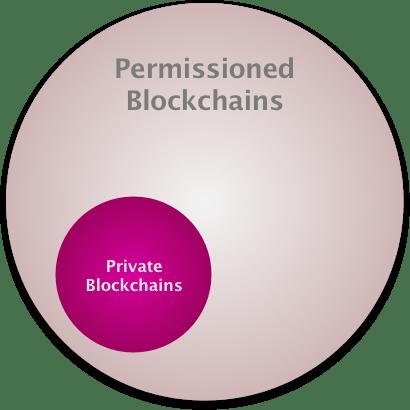 Private vs Permissioned Blockchains