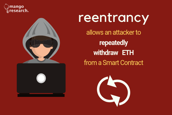 ethereum reentrancy attack constantinople 2019