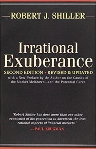 Best Finance books 2019 - Irrational Exuberrance