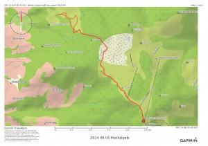 2014 06 01 Hochälpele Route