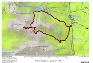 Untere Wildgrubenspitze 2014 10 12