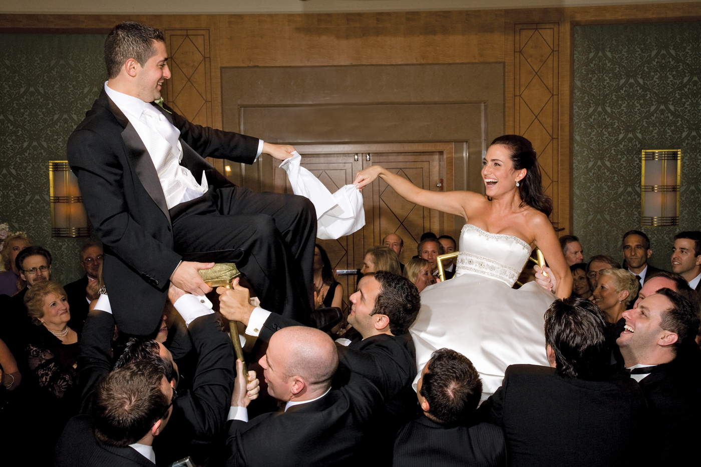 chair dance ritual song oversized slipcovers jewish wedding traditions