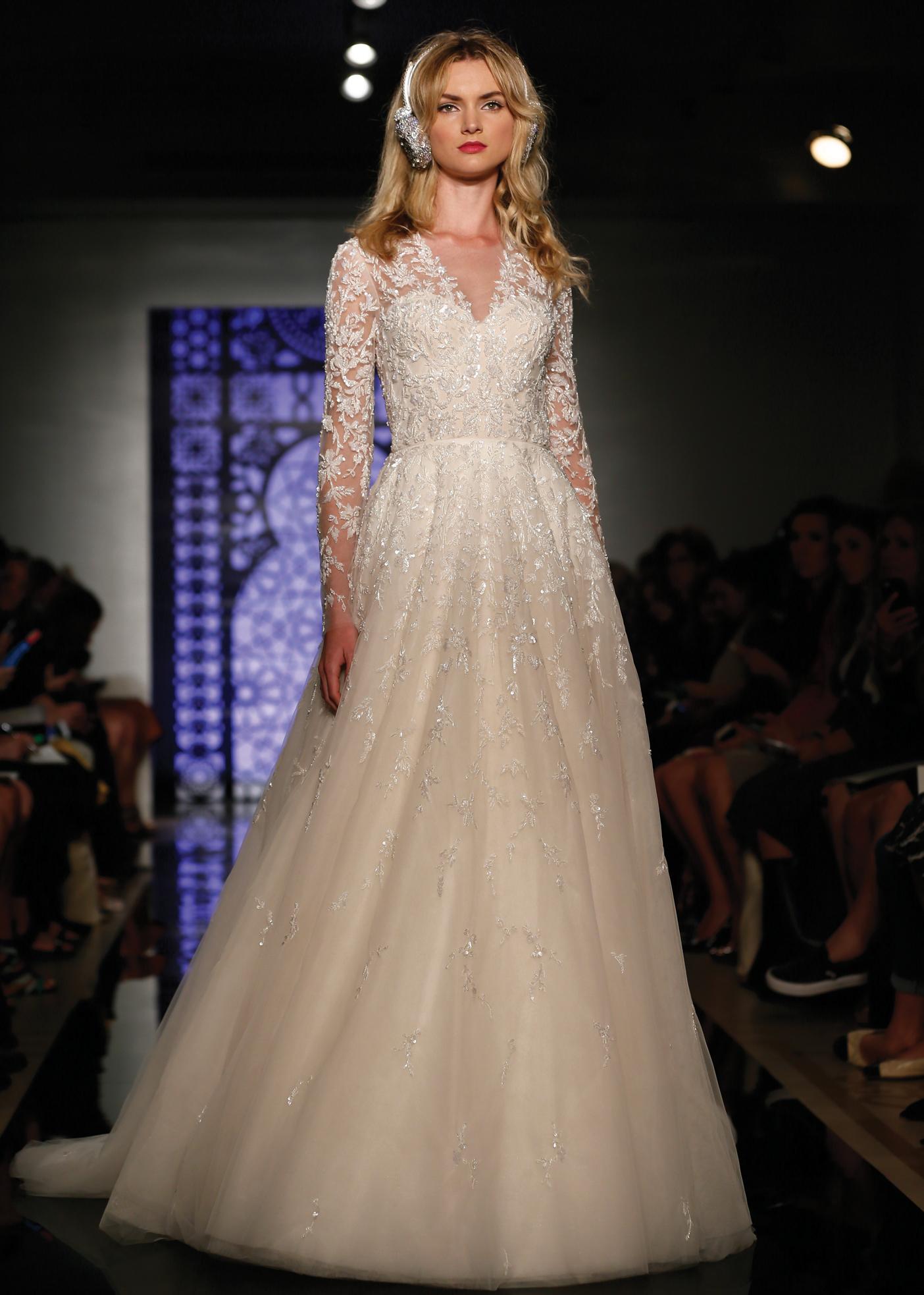 Ballgown Bridal Wedding Dress By Reem Acra In NY NJ