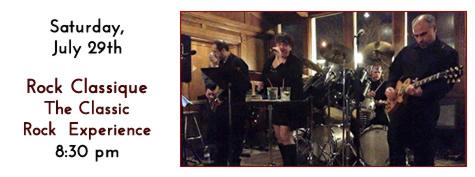 Rock Classique Plays at Manhattan's in Carol Stream