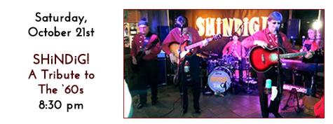 SHiNDiG! plays at Manhattan's in Carol Stream