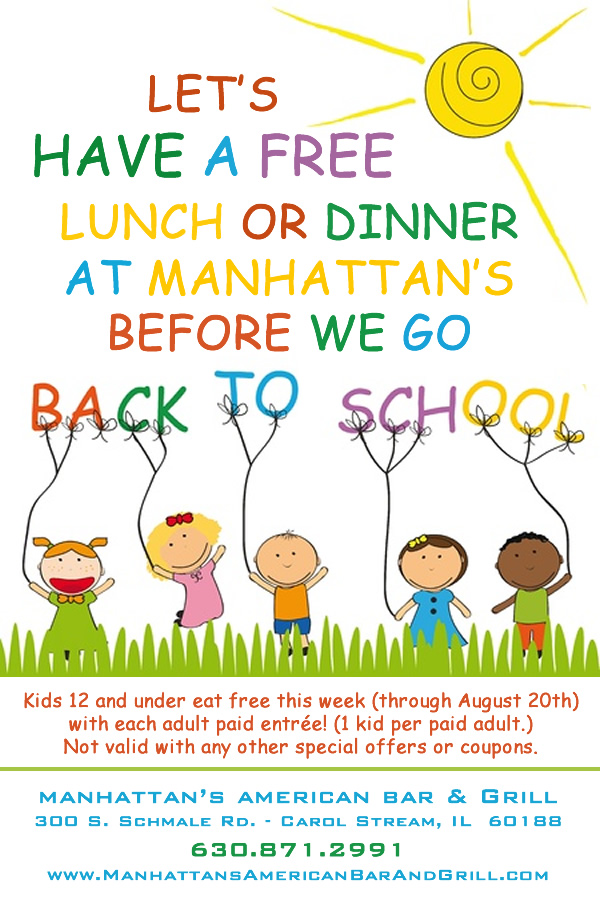 Manhattan's Back to School Special