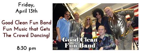 Good Clean Fun Band plays at Manhattan's