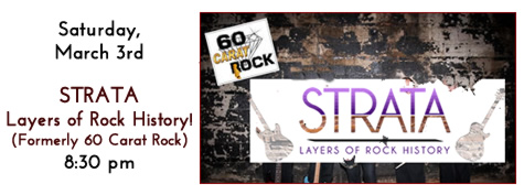 STRATA Plays at Manhattan's in Carol Stream