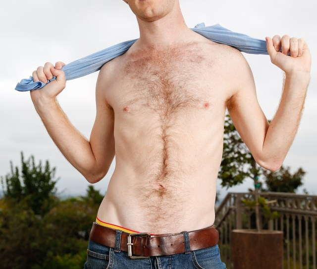 Seamus Oreilly Shows Off His Fuzzy Young Ginger Body In A Gay Porn Solo