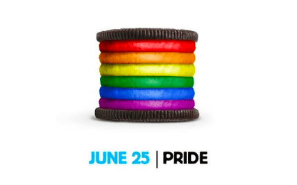 Oreo y su galletita gay que hizo furor en Facebook