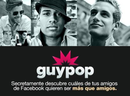 """Un sitio gay nuevo, te ayuda para que secretamente descúbras cuáles de tus amigos de facebook quieran ser  """"más que amigos"""""""