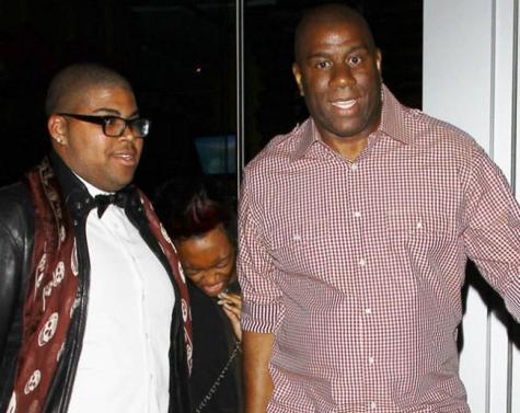Magic Johnson apoya a su hijo gay… y hay quien le acusa de dañarle por ello