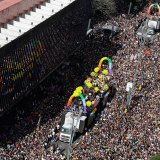 Multitudinaria celebración del Pride en Sao Paulo