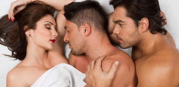 Datos de las relaciones de hombres bisexuales